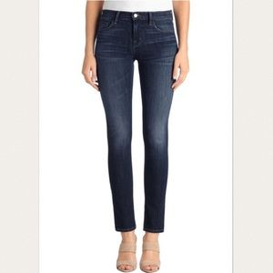 J Brand Mid Rise League Skinny Jeans